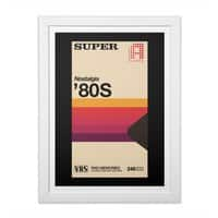 Super Tape - white-vertical-framed-print - small view