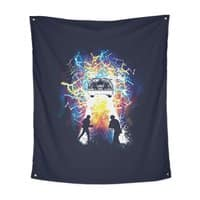 Time Travelers - indoor-wall-tapestry-vertical - small view