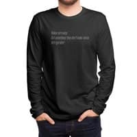 Haikus Are Easy, But Sometimes... - mens-long-sleeve-tee - small view