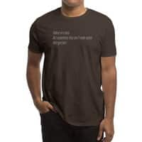Haikus Are Easy, But Sometimes... - mens-regular-tee - small view
