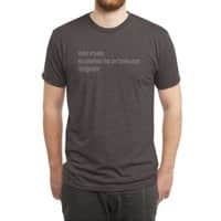 Haikus Are Easy, But Sometimes... - mens-triblend-tee - small view