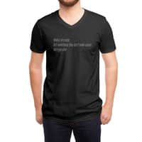 Haikus Are Easy, But Sometimes... - vneck - small view