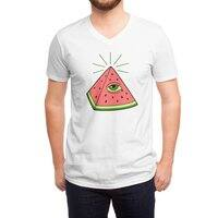 Watermelon - vneck - small view