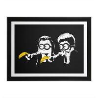 Banana Fiction - black-horizontal-framed-print - small view