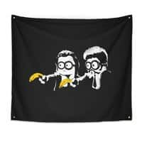 Banana Fiction - indoor-wall-tapestry - small view