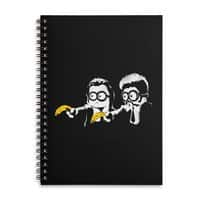 Banana Fiction - spiral-notebook - small view