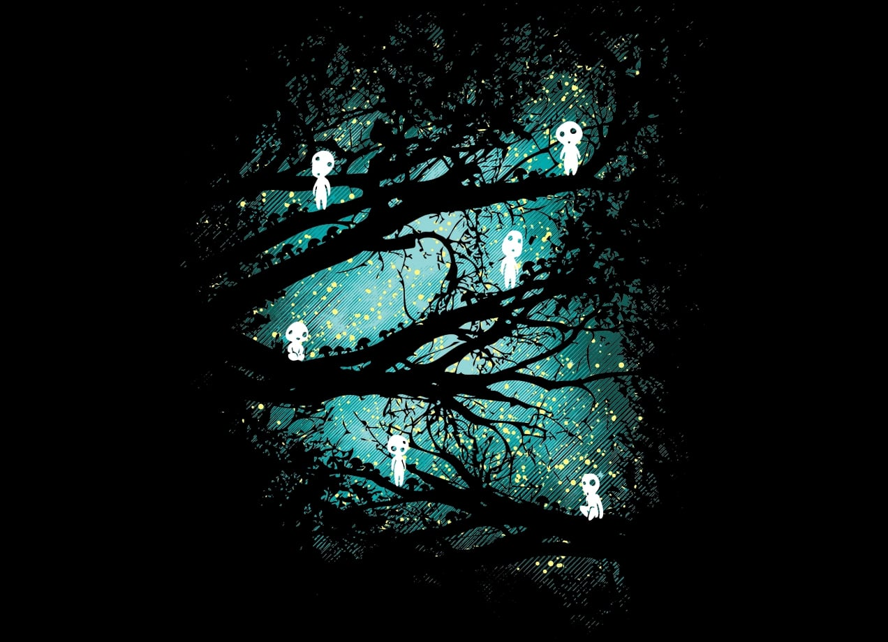 Tree Spirits By Dale Threadless