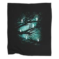 Tree Spirits - blanket - small view