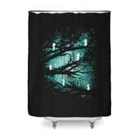 Tree Spirits - shower-curtain - small view