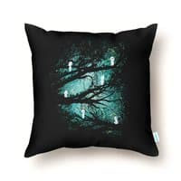 Tree Spirits - throw-pillow - small view