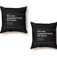 Damn Scientists - throw-pillow - small view