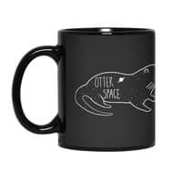 Otter Space - black-mug - small view