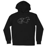 Otter Space - unisex-lightweight-pullover-hoody - small view