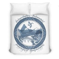 There And Back Again - duvet-cover - small view