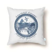 There And Back Again - throw-pillow - small view