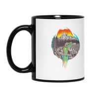 Melting Sun - black-mug - small view