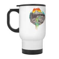 Melting Sun - travel-mug-with-handle - small view