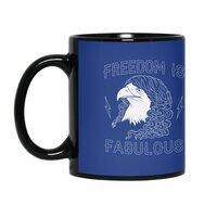 Freedom is Fabulous - black-mug - small view