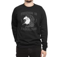 Freedom is Fabulous - crew-sweatshirt - small view