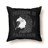 Freedom is Fabulous - throw-pillow - small view