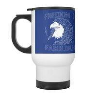 Freedom is Fabulous - travel-mug-with-handle - small view