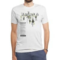 In Case of Zombies - mens-triblend-tee - small view
