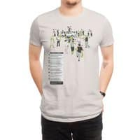 In Case of Zombies - mens-regular-tee - small view