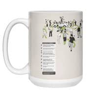 In Case of Zombies - white-mug - small view