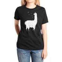 Song Of The Llama - womens-extra-soft-tee - small view