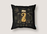 Le Beer (Elixir of Life) - throw-pillow - small view