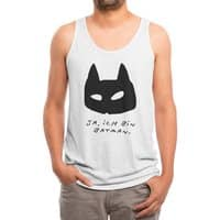 Yes I Am - mens-triblend-tank - small view