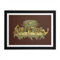 The Last Supper - black-horizontal-framed-print - small view