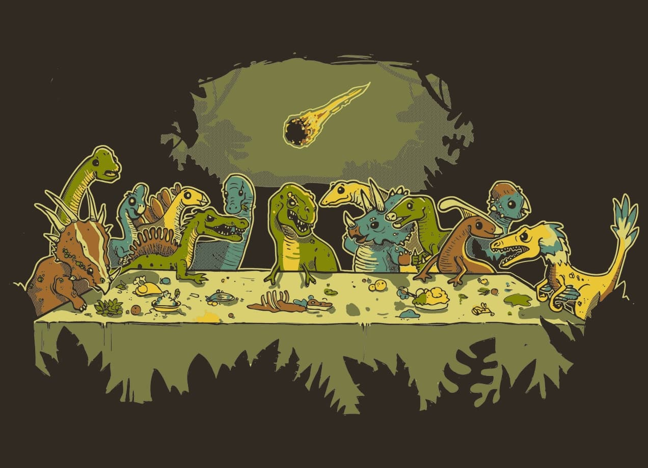 The last supper by harantula threadless for Best place to sell your art online