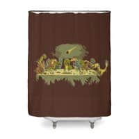 The Last Supper - shower-curtain - small view