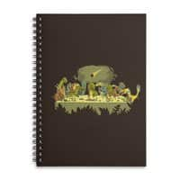 The Last Supper - spiral-notebook - small view