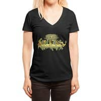 The Last Supper - womens-deep-v-neck - small view