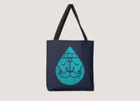 Waterdrop Sailor - tote-bag - small view