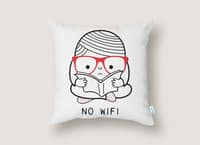 No Wi-Fi - throw-pillow - small view