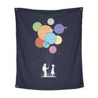 You Are My Universe - indoor-wall-tapestry-vertical - small view
