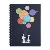 You Are My Universe - spiral-notebook - small view