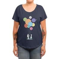 You Are My Universe - womens-dolman - small view