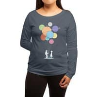 You Are My Universe - womens-long-sleeve-terry-scoop - small view