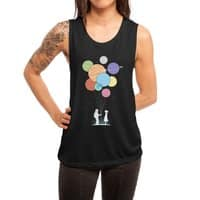 You Are My Universe - womens-muscle-tank - small view