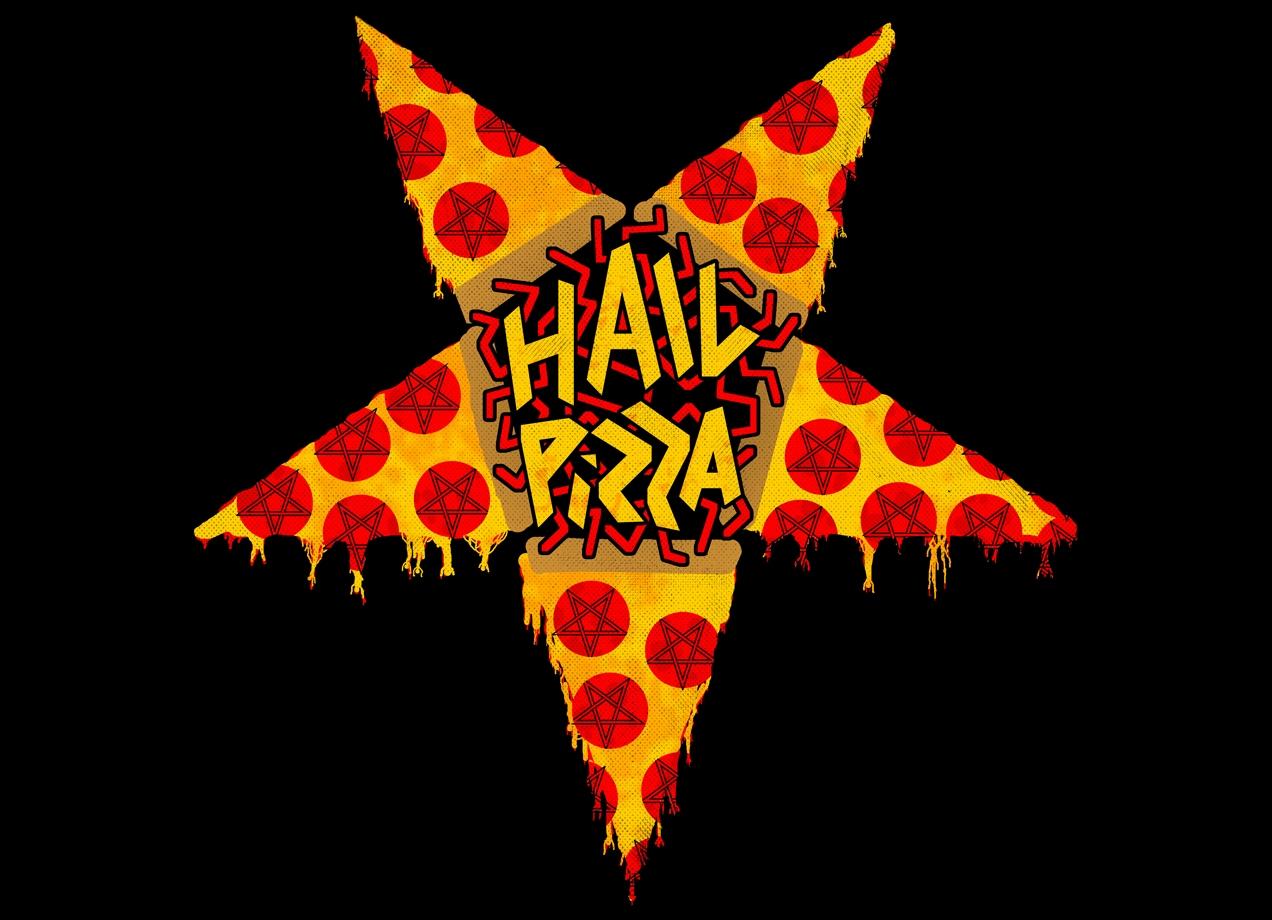 Hail Pizza By Collin James Diederich Threadless