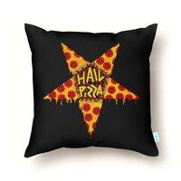 HAIL PIZZA - throw-pillow - small view