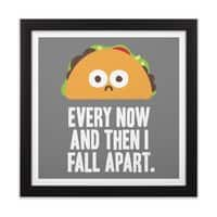 Taco Eclipse of the Heart - black-square-framed-print - small view