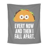 Taco Eclipse of the Heart - indoor-wall-tapestry-vertical - small view