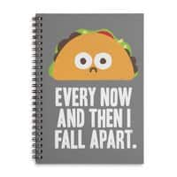 Taco Eclipse of the Heart - spiral-notebook - small view