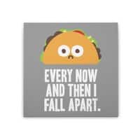 Taco Eclipse of the Heart - square-stretched-canvas - small view