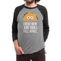 Taco Eclipse of the Heart - triblend-34-sleeve-raglan-tee - small view